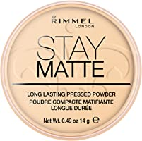 Rimmel London Stay Matte Pressed Powder, 1 Transparent, 14 g
