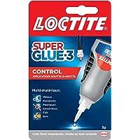Loctite Super Glue-3 Control, Colle instantanée surpuissante avec débit contrôlé, Colle universelle pour la plupart des…
