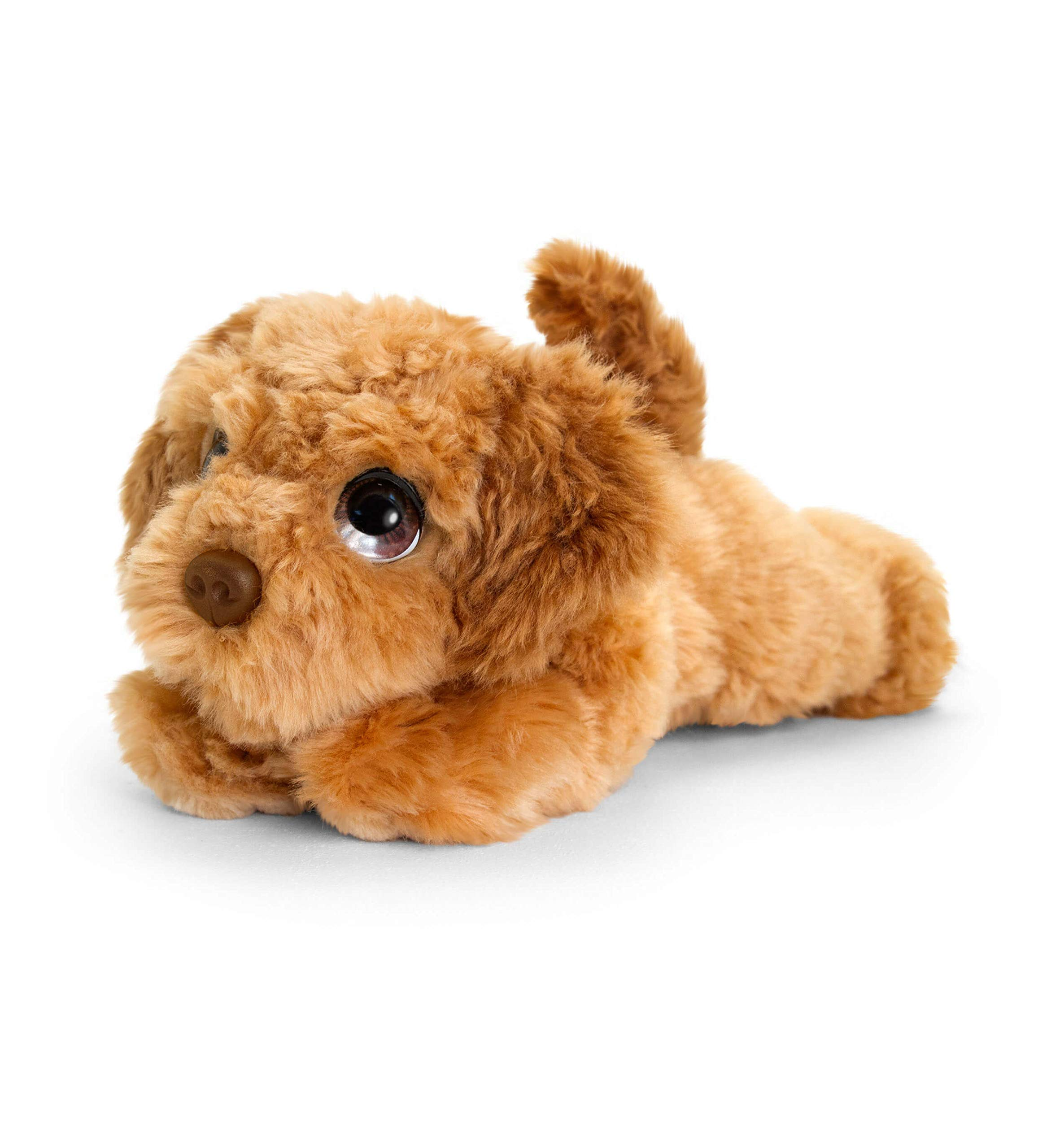 Keel Toys SD2546 47cm Signature Cuddle Puppy Labradoodle, Brown