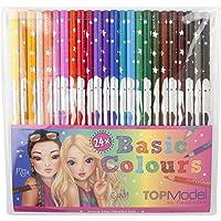 Top Model 006710 Lot de 24 crayons Multicolore