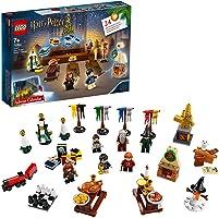 LEGO Harry Potter - Calendario de Adviento 2019, Juguete de Construcción con 7 Minifiguras del Mundo Mágico, un Mini...