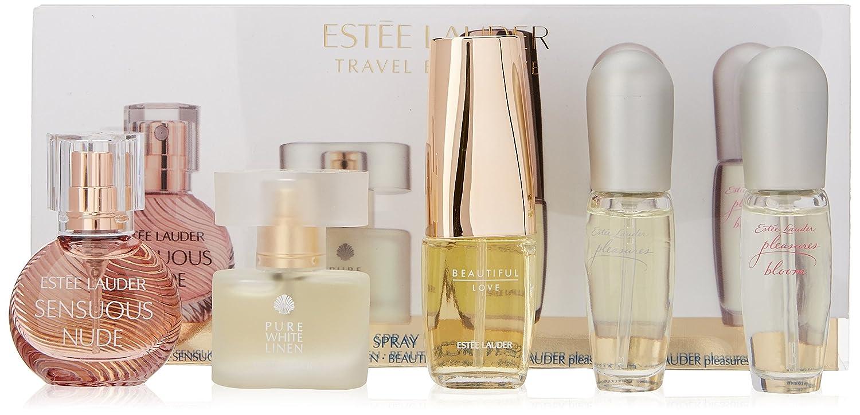ESTEE LAUDER Travel Exclusives Mini Fragrance Set: Amazon.co.uk ...
