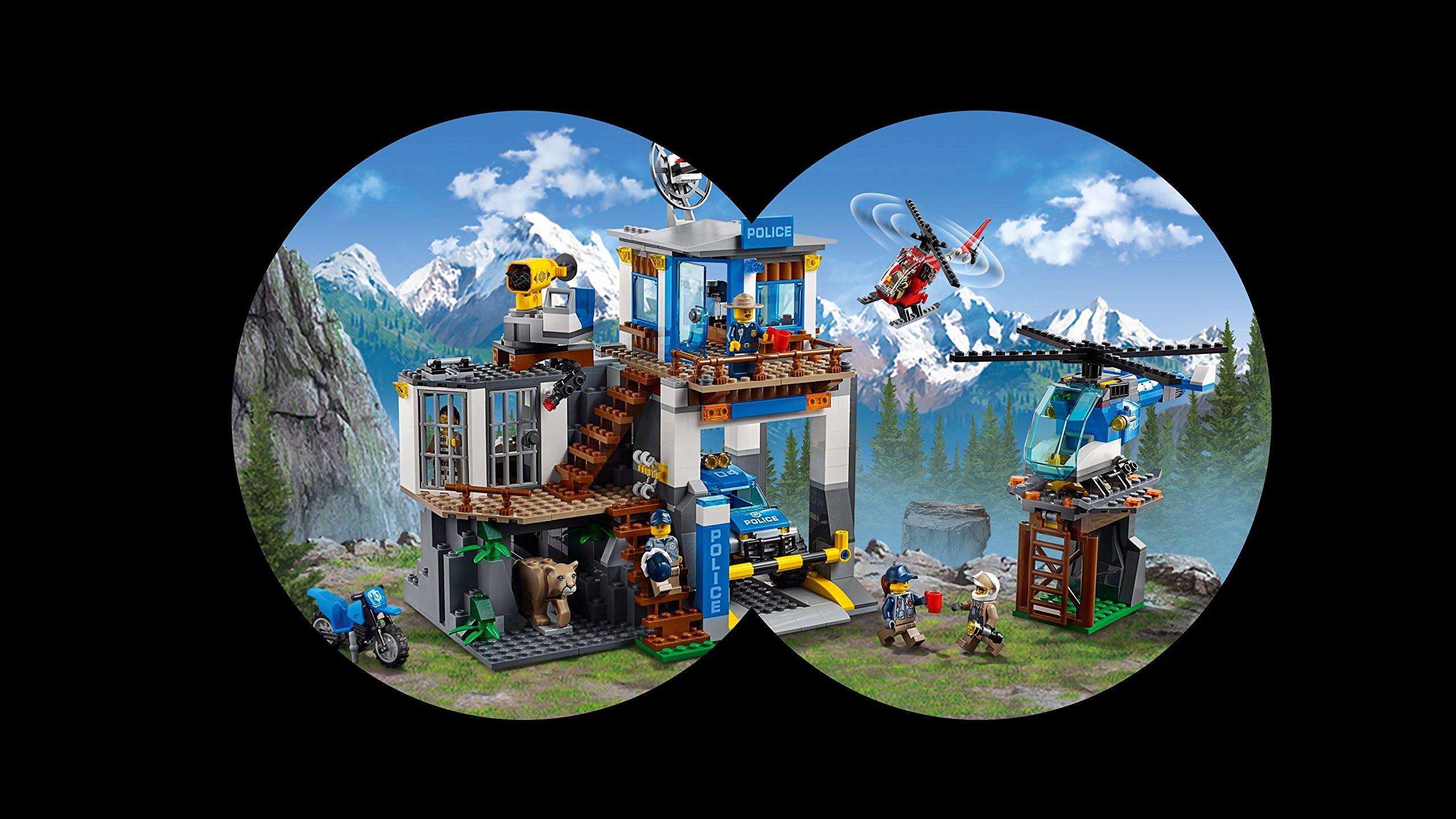 LEGO- City PoliceQuartier Generale della Polizia di Montagna, Multicolore, 60174 5 spesavip