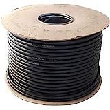 Ronde zwarte 2, 3 ader flexibele kabel 0.75 mm, 1.0 mm, 1.5 mm 3182Y 3183Y volledige rol en aangepaste gesneden lengtes besch