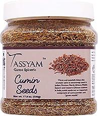 Tassyam Cumin Seeds 500g | Jumbo Pack