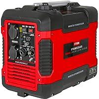 STIER Stromerzeuger Premium SNS-190, Strom Generator, Benzin, 4l Tankvolumen, 21,5 Kg, Stromaggregat, leise mit 59 dB(A…