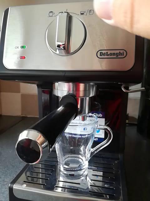 Delonghi ECP 33.2 Cafetera de bomba tradicional para espresso y ...