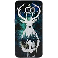 EJC Avenue Samsung Coque en Silicone Harry Potter Cases Samsung Galaxy S7 Edge (G935) Cerf