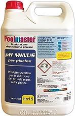 New Plast 0842 - Correttore di pH Minus per Acqua Piscina, Tanica 5 lt