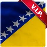 Bosnien und Herzegowina Fahne