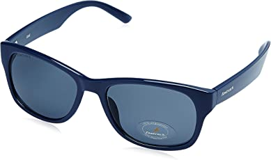 Fastrack UV Protected Unisex Sunglasses (PC001BK21|53 millimeters|Blue Lens)