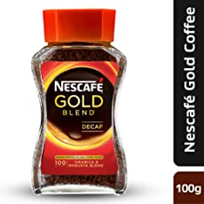 Nescafe Gold Blend Decaf Coffee, 100g