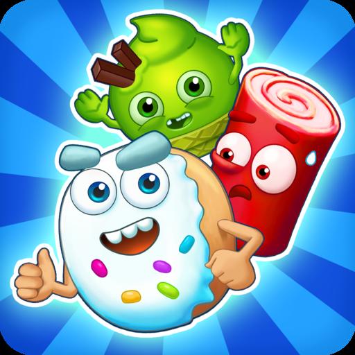 Sugar Heroes - drei in einer Reihe Spiel!