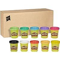 Play-Doh 10er Pack, Knete für fantasievolles und kreatives Spielen, tolle Farben für Kinder ab 2 Jahren in recycelbarer Verpackung