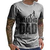 Herren Vintage Papa B/är Baby B/är Vatertag Xmas Geschenk Retro Daddy T-Shirt