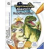 Ravensburger - Livre d'aventure interactif tiptoi - Destination savoir Les dinosaures - Jeux électroniques éducatifs sans écr