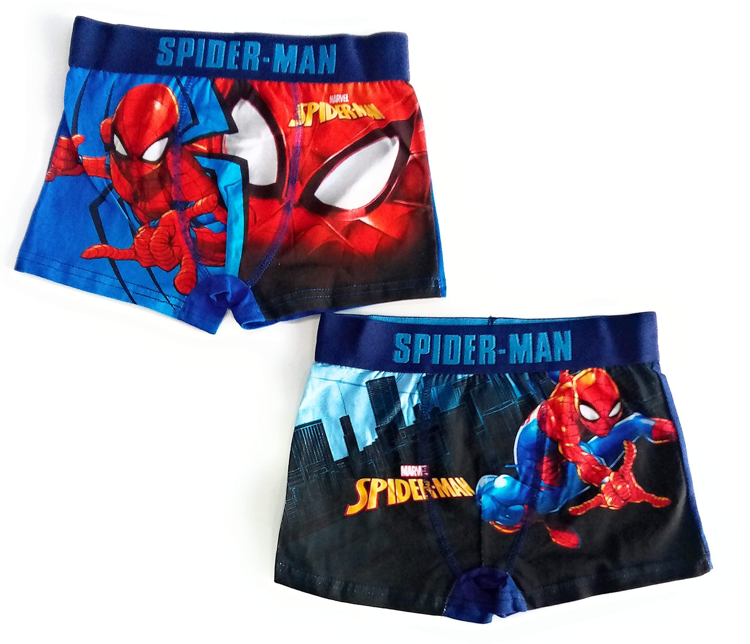 Boxer Spiderman Calzoncillos (Pack de 2)