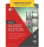 AVS Audio Editor - Unbefristetes Abonnement [Online Code]