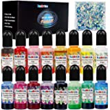 Coloranti per Resina Epossidica - 16 Colori Pigmento Resina Epossidica Liquido per Resina Bicomponente Art - Colorante Resina