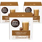 Nescafe Dolce Gusto Cafe Au Lait Coffee Capsules (48 Capsules, 48 Cups)