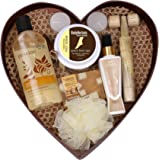 BodyHerbals Everyday Rituals Gift Set For Birthday, Anniversay & Wedding- Bath & Body Spa Hamper (Vanilla Shower Gel 200ml, F