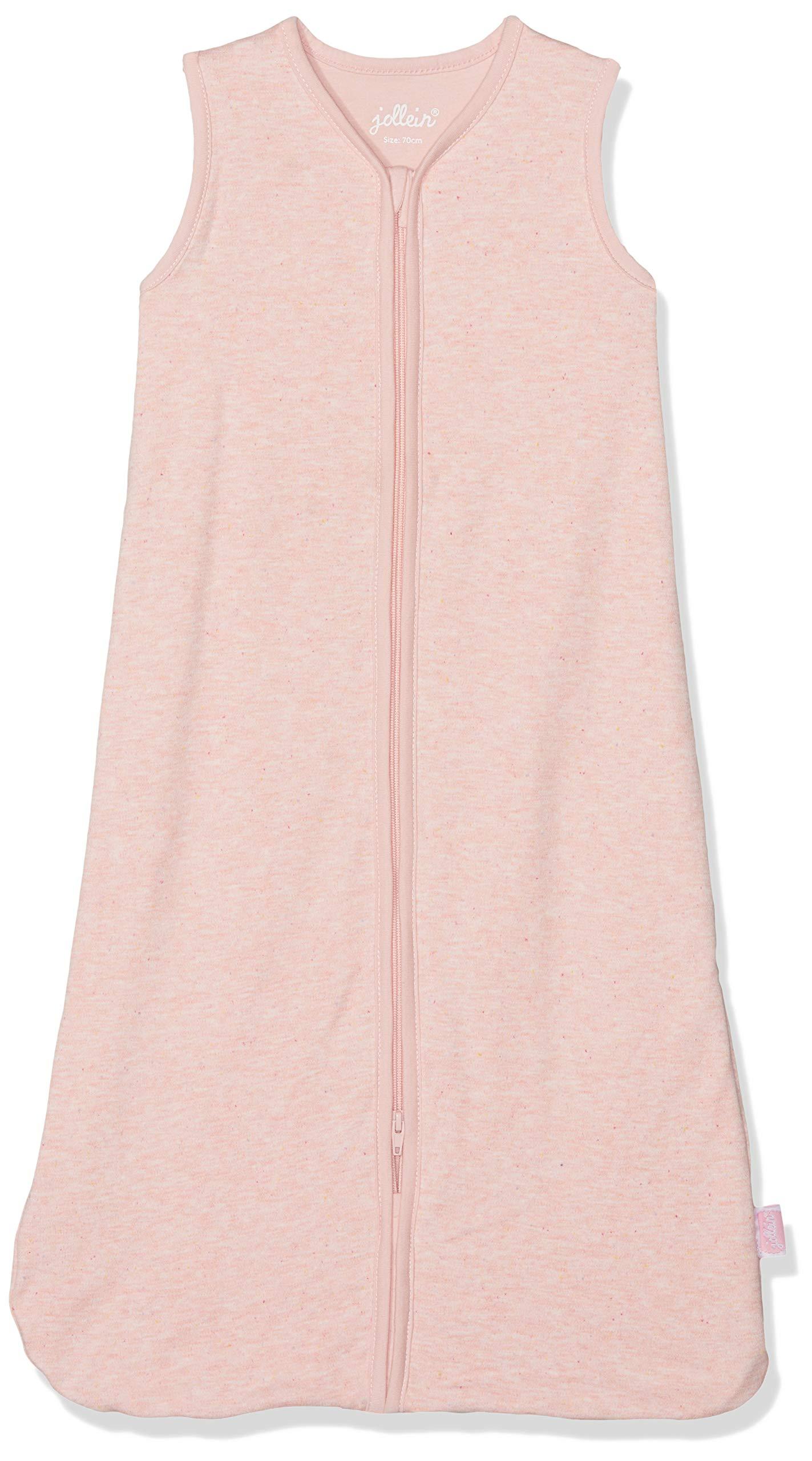 81ZX%2B1epHKL - Saco de dormir Jollein, saco de dormir de verano, 70 cm, color rosa, saco de dormir verano, 70 cm, color rosa