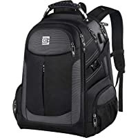 Large Laptop Backpack, Travel Business Rucksack with USB Charging Port for Trip, Water Resistant TSA Friendly Bag for…