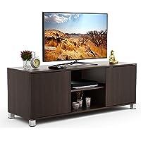 BLUEWUD Harmond Engineered Wood TV Entertainment Unit Table/Set Top Box Stand (Wenge)