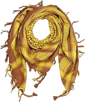 Superfreak Palituch - Grundfarbe schwarz - 10+ Farben - Pali Palästinenser Arafat Tuch - 100% Baumwolle