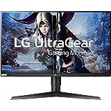 LG 27GL850-B 27 Inch Ultragear QHD Nano IPS 1ms NVIDIA G-Sync Gaming Monitor