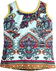 Epilogue Collections Baby Girl Sleeveless Top/Tshirt / Dress - Multi Color Printed