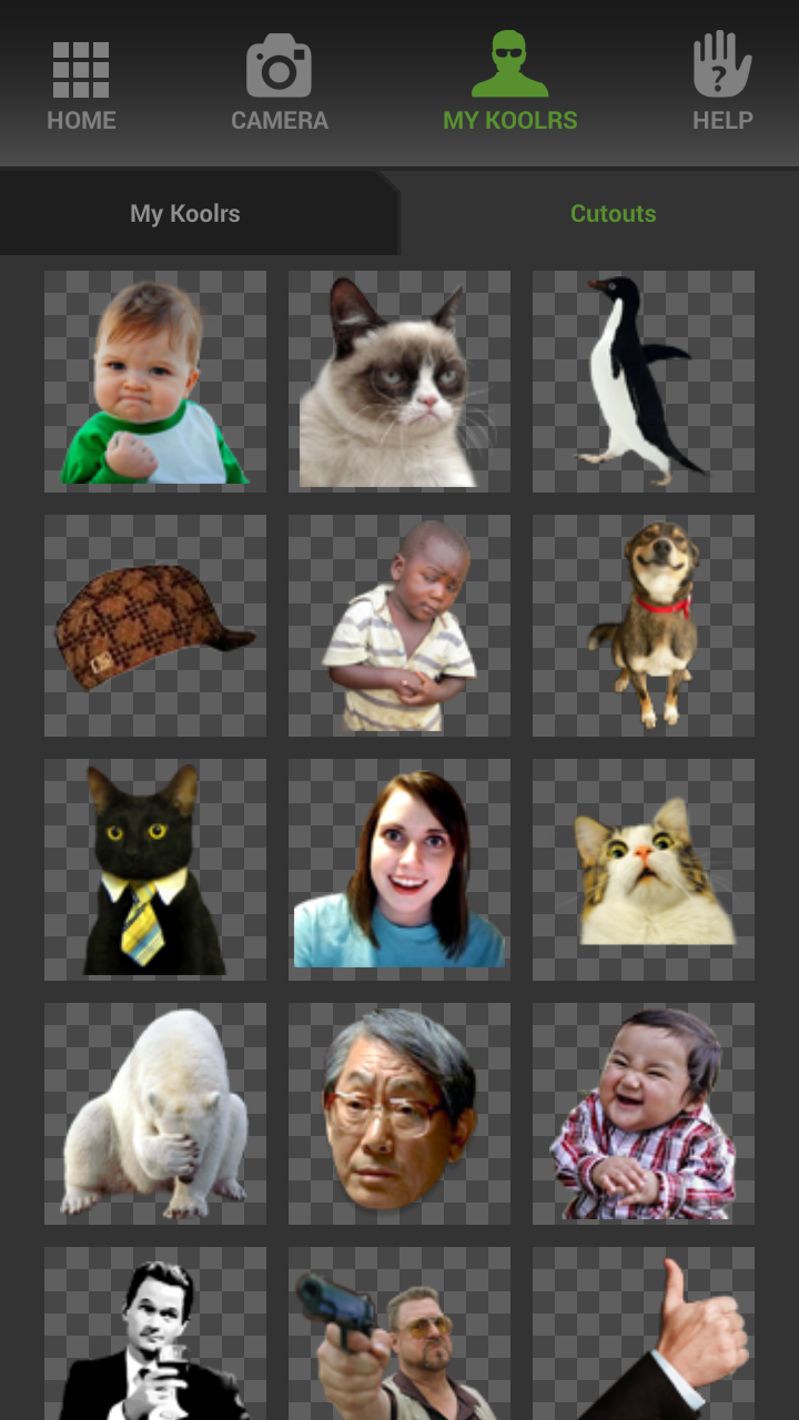 MEME Koolr Maker Capture d'écran