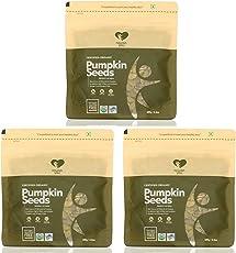 Nourish You Organic Pumpkin Seeds, 300gm (Pack of 3x100gm)