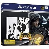 Sony PlayStation 4 Pro 1 To Édition Spéciale Death Stranding Limitée, Avec le jeu inclus + 1 manette sans fil DUALSHOCK…