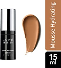 Lakme Absolute Skin Natural Hydrating Mousse, Walnut Tan, 15ml