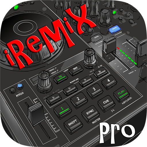 iRemix Pro - Portable DJ Music Remixer Mix Station