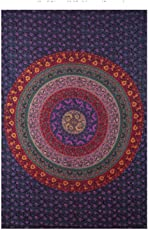 Bedcovers Wall Hanging Cotton Tapestry Mandala Bedsheet Wall Decor By Home Delicate
