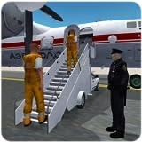Les criminels de la prison Transport Avion