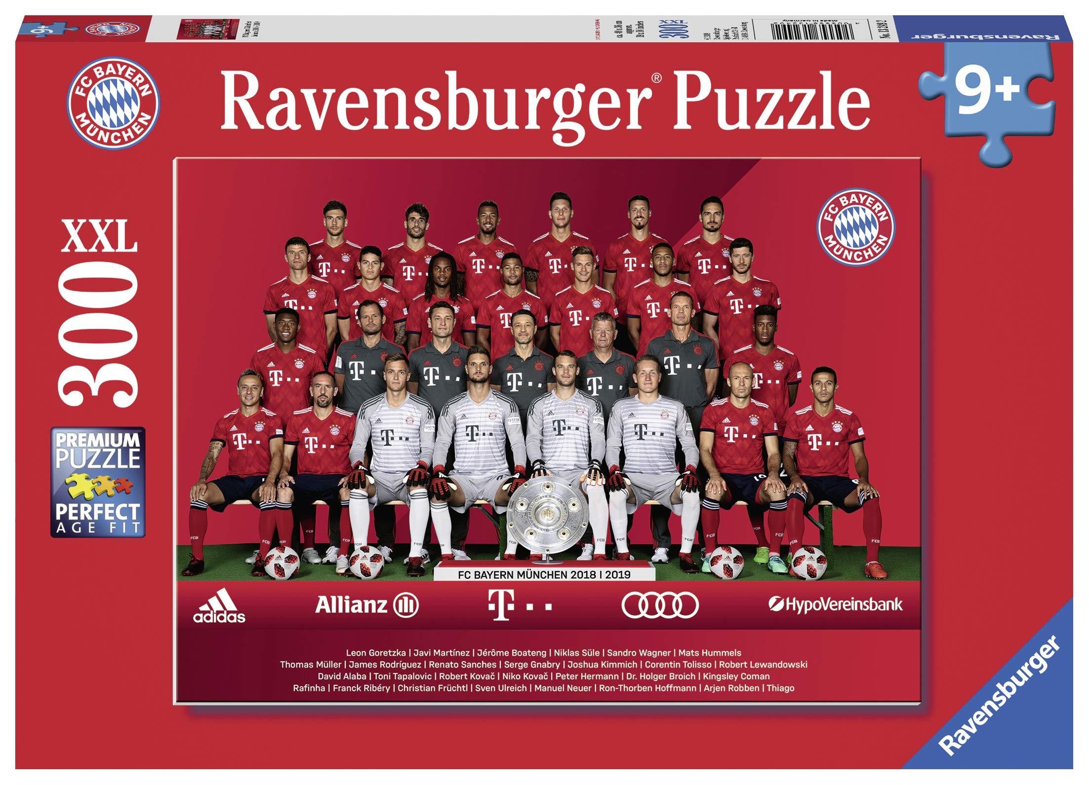 Puzzle Puzzles & Geduldspiele Ravensburger Kinderpuzzle 13248 Fußballclubs Weltmeisterschaft 2018