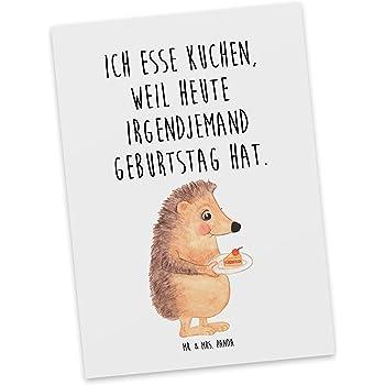 Amazon De Mr Mrs Panda Spruche Geschenkkarte Postkarte Igel