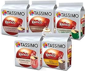 Tassimo Kenco Discovery Kaffee Bundle Kapseln T-Discs Pods (72 Getränke)
