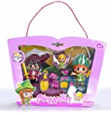 Famosa 700012738 Pinypon Peter Pan, Uncino, Trilli Personaggi