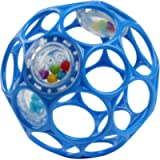 Bright Starts Oball Rattle Easy-Grasp Toy - Blue