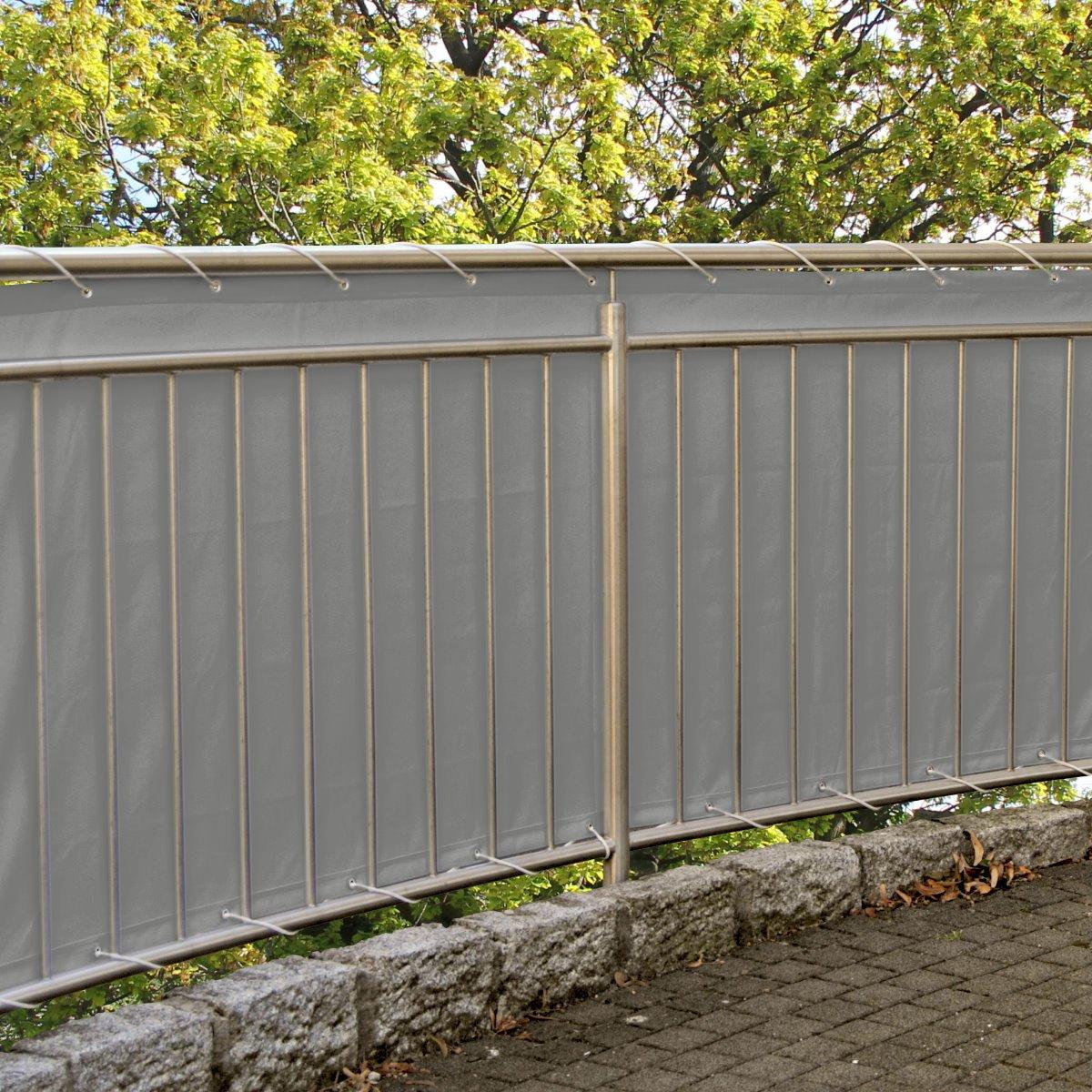 Amazon Balkonsichtschutz Windschutz Sichtschutz 600 x 90 cm
