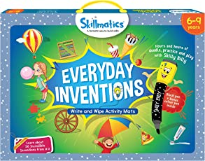 Skillmatics Educational Game : Everyday Inventions 6-9 Years