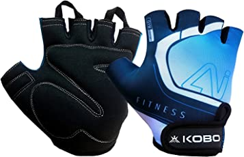 Kobo WTG-20 Fitness Weight Training Hand Protector Gym Gloves