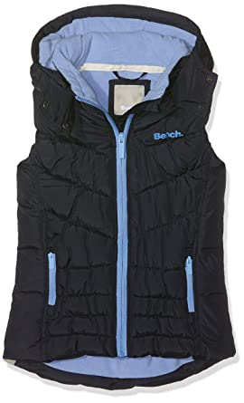 Bench Wadded Gilet 2, Veste sans Manche Fille, (Essentially Navy Bl11341), 164 (Taille Fabricant: 13-14)
