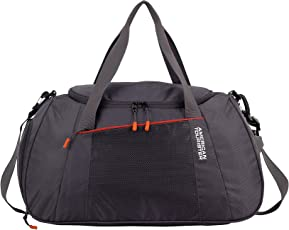 American Tourister Dunk Polyester 49 cms Grey Travel Duffle (83O (0) 40 001)