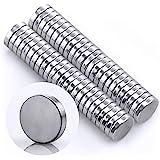 Omnicube - Runde N35 Neodym Magnete Extra Stark (50 Stück) | 5x1mm Starke Magnete | Geeignet für Magnettafeln…