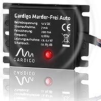 AUTOUTLET Repellente Topi per Auto,ultrasuoni per topi auto,topicida ultrasuoni Emissione frequenza donda sonora 12-45 KHz sicurezza ecologica ed efficente
